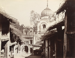 [The Golden Temple, Kangra.]